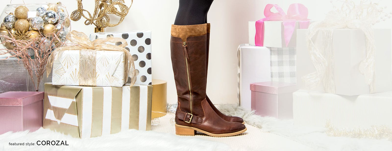 Featured style: Corozal riding boot, shown in brown