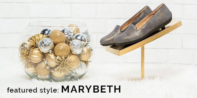 Featured style: Marybeth slipper shown in charcoal. Shop Marybeth