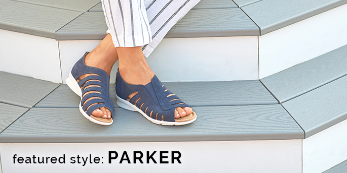 Featured style: Parker shown in midnight navy. Shop Parker.